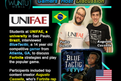 BlueTactic - Fortnite Interview by UNIFAE Univ. Students