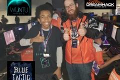 Clemson Univ Esports Team & Pro Gamer BlueTactic at DreamHack