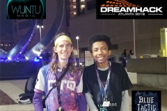 DownTo Quest Streamer & Pro Gamer BlueTactic at DreamHack