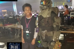 DownTo Quest Streamer the Irish Guy & Pro Gamer BlueTactic at DreamHack