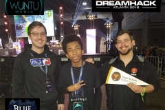 Founders of HS Esports League & Pro Gamer BlueTactic at DreamHack