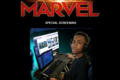 Blue Tactic Attends Special Screening of Captain Marvel