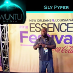 Essence Festival: Sly Pyper 'The Wizard' Performs with Snopp Dogg