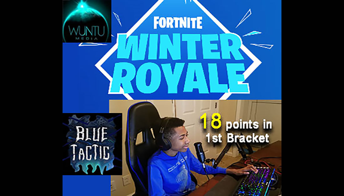 bluetactic 14yr old pro gamer scores big in fortnite. Black Bedroom Furniture Sets. Home Design Ideas